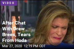 After Chat With Drew Brees, Tears From Hoda
