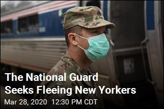 One State's National Guard Targets Fleeing New Yorkers