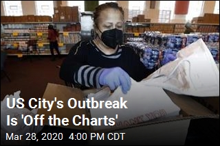 US City's Outbreak Is 'Off the Charts'