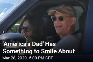 'America's Dad' Is Back Home