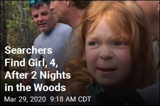 Searchers Find Girl, 4, After 2 Nights in the Woods