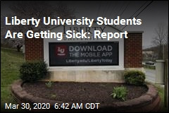 Report: Students Who Went Back to Liberty University Are Showing Symptoms
