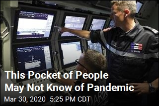 This Pocket of People May Not Know of Pandemic