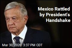 Mexico Rattled by President's Handshake