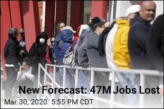 New Projection: Job Losses Will be Brutal but Temporary