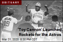 'Toy Cannon' Launched Rockets for the Astros