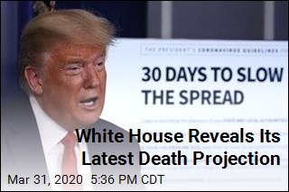 White House Reveals Its Latest Death Projection