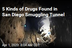 5 Kinds of Drugs Found in San Diego Smuggling Tunnel