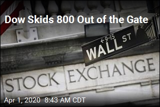 Dow Skids 800 Out of the Gate