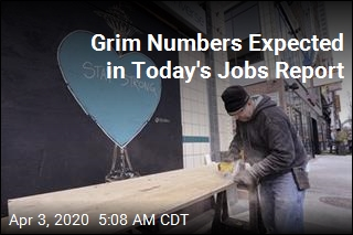 Grim Numbers Expected in Latest Jobs Report