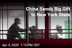 China Sends Big Gift to New York State