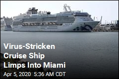 Another Virus-Stricken Cruise Ship Docks in Fla.