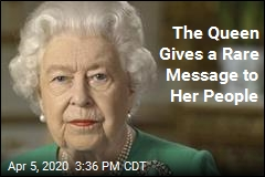 The Queen Gives a Rare Message to Her People