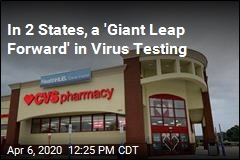 In 2 More States, CVS Drive-Thrus Offer Rapid Virus Tests