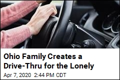 Ohio Family Creates a Drive-Thru for the Lonely