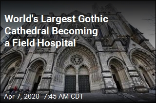 Field Hospital Taking Over NY Cathedral