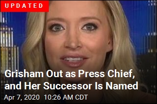 Stephanie Grisham Leaving Press Chief Role