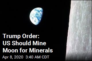 Trump Order: US Should Mine Moon for Minerals