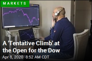 Dow Opens Up 300