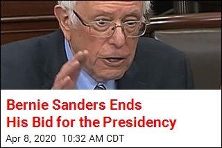 Bernie Sanders Ends His Bid for the Presidency