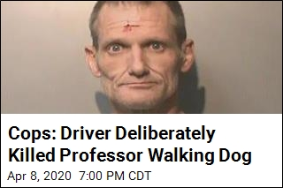 Cops: Driver Deliberately Killed Professor Walking Dog