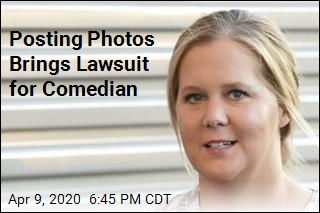 Posting Photos Brings Lawsuit for Comedian