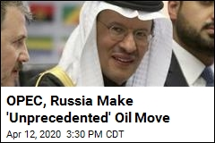 OPEC, Russia Kiss and Make Up