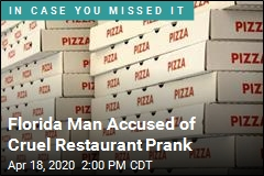 Florida Man Accused of Cruel Pizza Scam