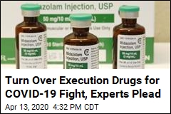 Doctors Fighting Virus Want States' Lethal Injection Drugs