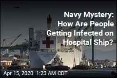 No One Should Be Getting the Virus on Navy Hospital Ship, but They Are