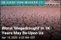 Drought in Western US May Be One for the Ages