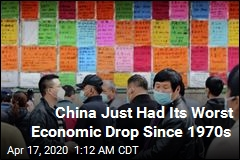 China Just Had Its Worst Economic Drop Since 1970s