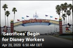 100K Furloughs Begin at Once-Happiest Place on Earth