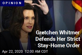 Gretchen Whitmer Defends Her Strict Stay-Home Order