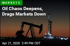 Oil Collapse Drags Stocks Down