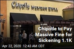 Chipotle to Pay Massive Fine Over Tainted Food
