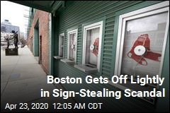 Red Sox Get Off Lightly in Sign-Stealing Scandal