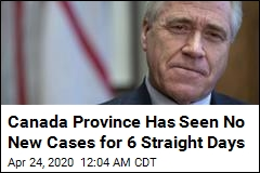 Canadian Province Has Seen No New Cases for 6 Straight Days