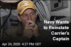 Navy Urges Returning Crozier to Roosevelt