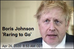 Boris Johnson Goes Back to Work