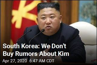 South Korea: We Think Kim Jong Un Is Fine
