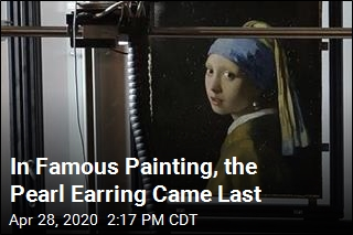 In Famous Painting, the Pearl Earring Came Last