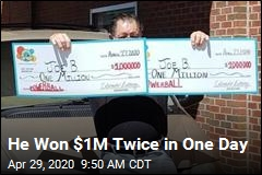 He Won $1M Twice in One Day