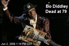 Bo Diddley Dead at 79