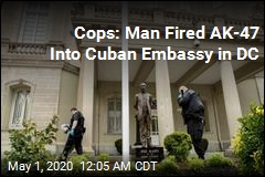 Cops; Shooting at Cuban Embassy Is 'Suspected Hate Crime'
