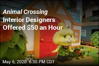 Animal Crossing Interior Designers Offered $50 an Hour