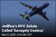 JetBlue Slammed for Low-Altitude NYC Flyover