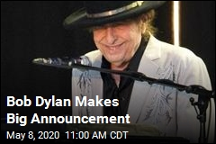 Bob Dylan Makes Big Announcement