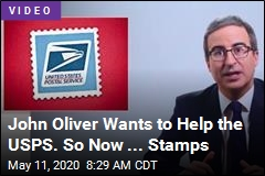 John Oliver Wants to Help the USPS. So Now ... Stamps