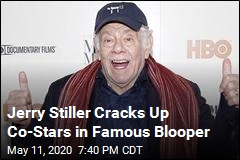 Jerry Stiller Cracks Up Co-Stars in Famous Blooper